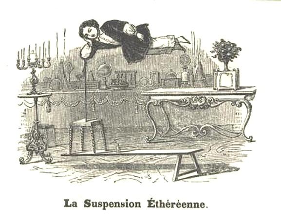 LA suspension éthéréenne