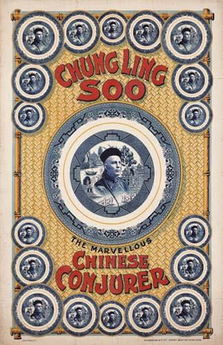 CHUNG LING SOO (William Ellsworth ROBINSON 1861-1918). Chung Ling Soo. The Marvellous Chinese Conjurer.