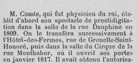 Louis Comte, Louis-Christian-Emmanuel-Apollinaire Comte, né le 22 juin 1783, et mort à Rueil (Seine-et-Oise) le 25 novembre 1859.