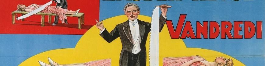 Affiches de magiciens