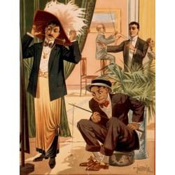 Affiche Théâtre illusionnisme