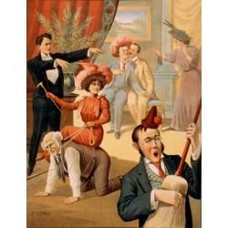 Affiche spectacle Mac KNIGHT HYPNOTIC FUN MAKER