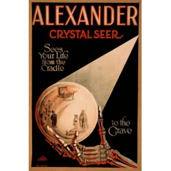 Alexander crystal seer sees your life from the cradle