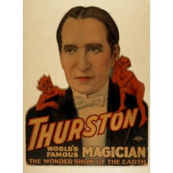 Poster thurston world famous magician