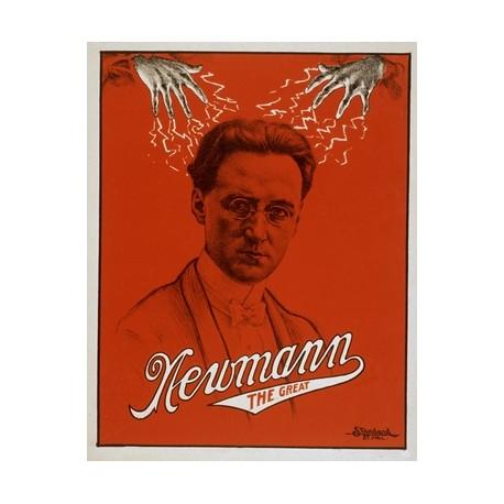 Newmann thr great. Affiche rouge
