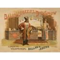 Billy Lester's Big Show. Affiches de magie