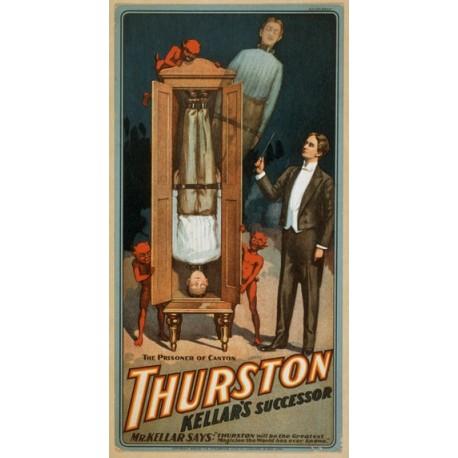 Thurston kellar's successor. Affiche de spectacle