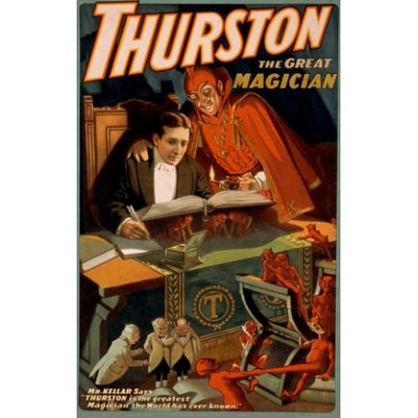 Affiche Thurston grimoire et diablotins