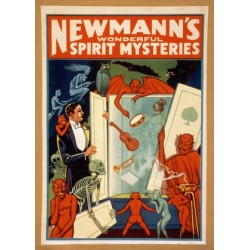 Newmann Wonderful Spirit Mysteries. Affiche de spectacle