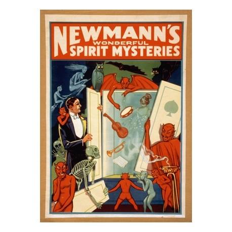 Newmann Wonderful Spirit Mysteries. Affiche de spectacle