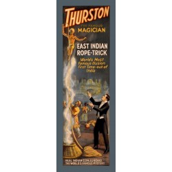 Thurston East Indian Rope_trick. Affiche La corde magique du fakir