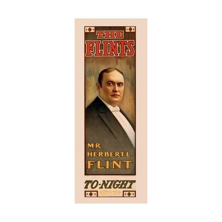 The Flints. Poster de magicien