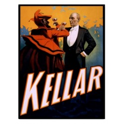 Affiche du magicien Kellar