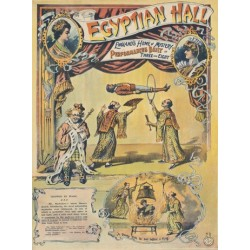 Egyptian Hall Affiche de spectacle