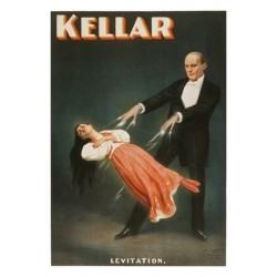 KELLAR LEVITATION AFFICHE