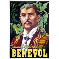 BENEVOL. Vieilles affiches de spectacles de magiciens