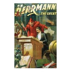 Herrmann. Affiche de spectacle. Taille de l'affiche 100 cm x 68 cm.