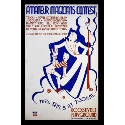 Affiche, magiciens amateurs