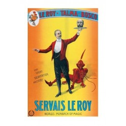 Affiche Servais Le Roy_World's Monarch of Magic, 1915. Taille de l'affiche 42 x 60 cm