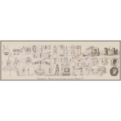 Gravure planche n°1 du NOUVEAU MANUEL MAGIE NATURELLE et  AMUSANTE. 7000 x 2300 pix