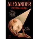 Affiche Alexander Crystal Seer. Affiche format A3, 297 x 420 mm