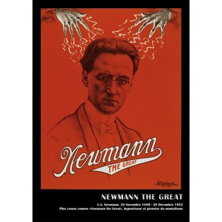 Affiche du magicien NEWMANN. Affiche format A3, 297 x 420 mm