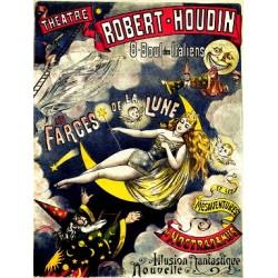 Affiche du théatre de Robert-Houdin