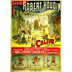 Agrandir l'image Affiche du théatre de Robert-Houdin.
