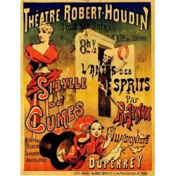 Agrandir l'image Affiche du théatre de Robert-Houdin. Sibylle de Cumes