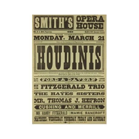 Affiche Houdini