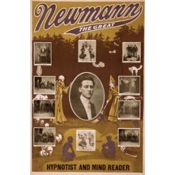 Affiche Newmann the great hypnotist and mind reader