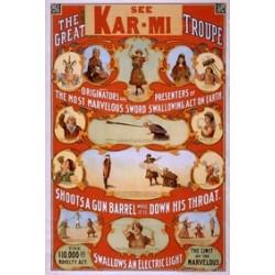 Kar-mi the great troupe.